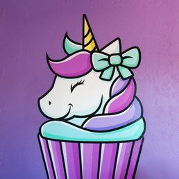 Image result for unicorn cupcake clipart in 2019.