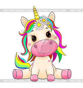 Cute unicorn baby.