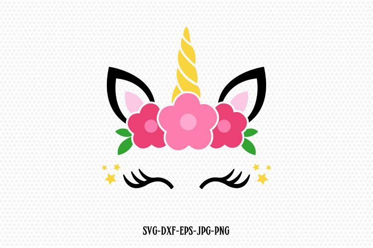 unicorn svg, unicorn eyelashes, unicorn birthday svg, Magical unicorn svg,,  unicorn face svg, Cricut, Silhouette Cut File, SVG DXF EPS.