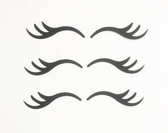 Clipart Unicorn Eyelashes.