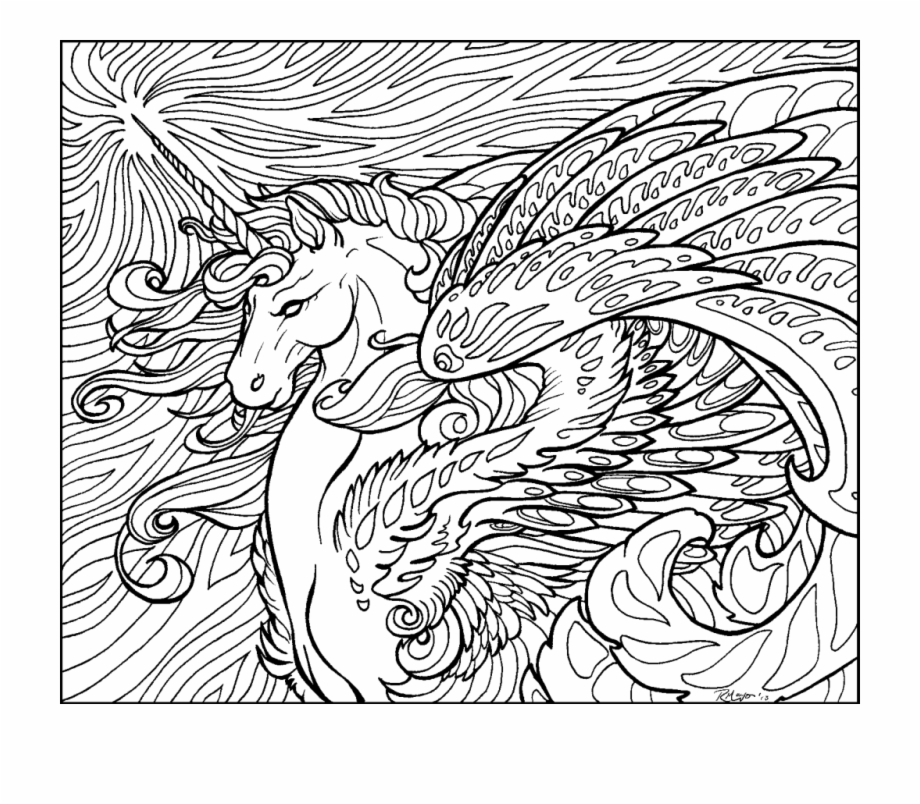 Full Size Of Coloring Page Hard Unicorn Coloring.