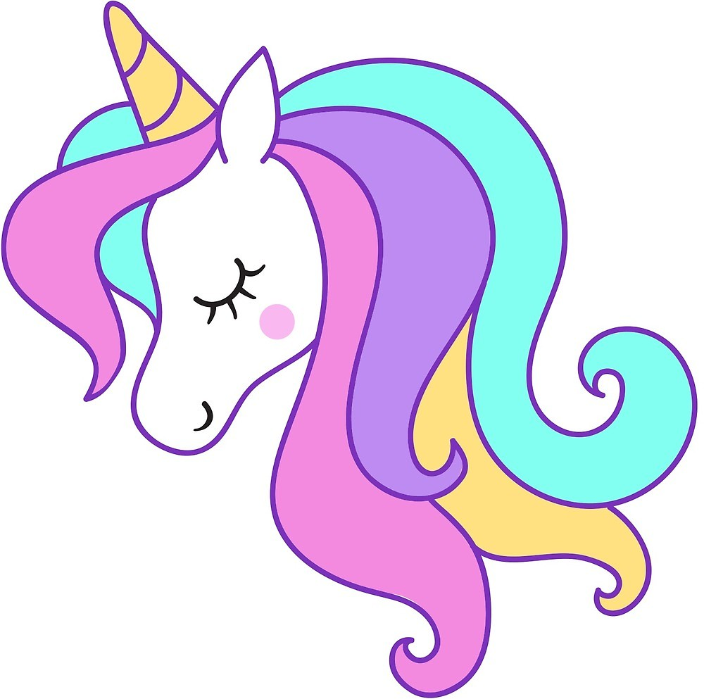 Unicorn,Unicorn Clipart, Unicorn Head, Unicorn Face,\
