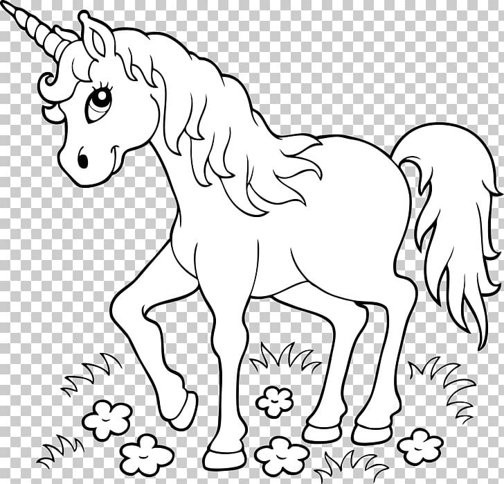 Unicorn Coloring book Page Child, unicorn, white unicorn.
