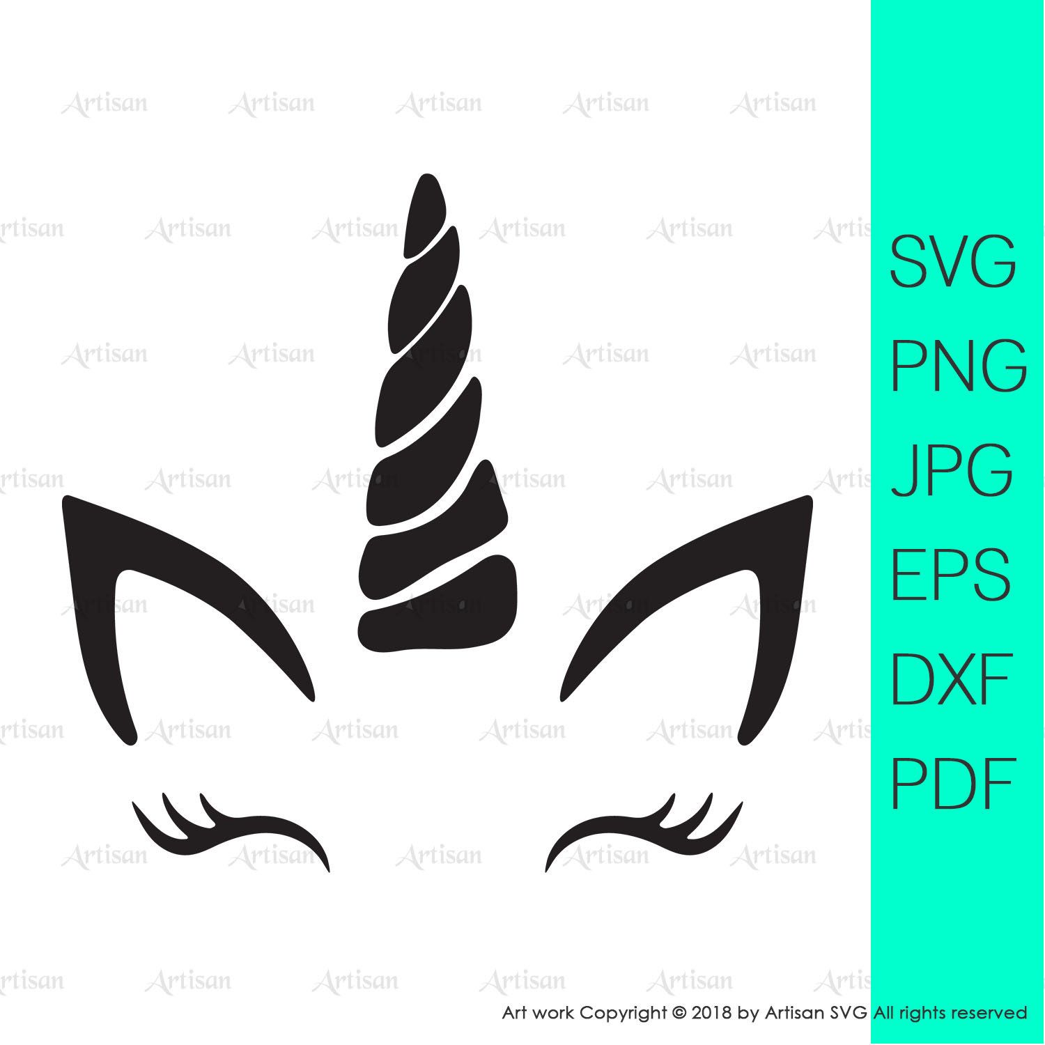 Unicorn svg files for cricut unicorn clipart commercial.