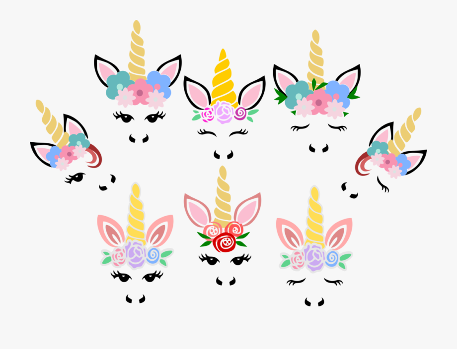 Unicorn Svg Unicorn Vector Cutting File Unicorn Horn.