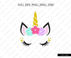 Free unicorn face clipart 6 » Clipart Station.