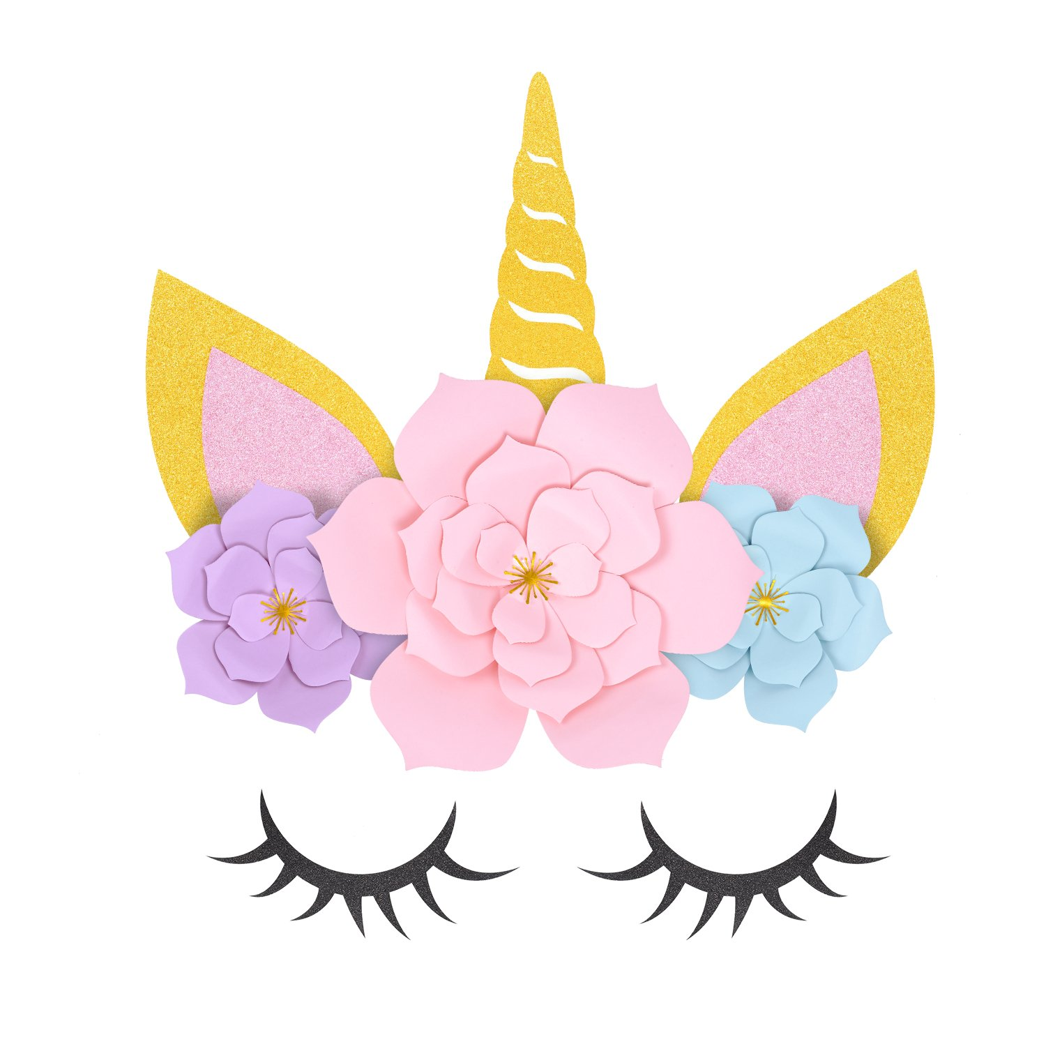 ORIENTAL CHERRY Unicorn Party Supplies & Decorations Backdrop For Girls  Birthday Party Baby Shower.