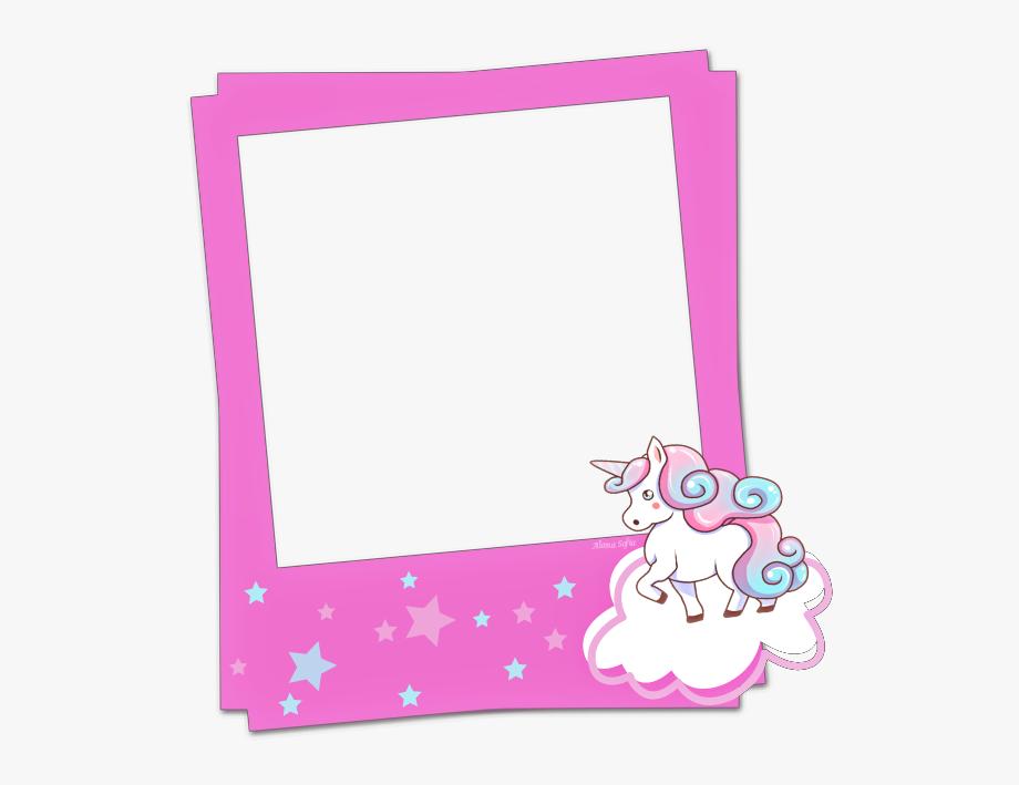 Picsart Edits, Polaroid Frame, Unicorn, Frames, Clip.