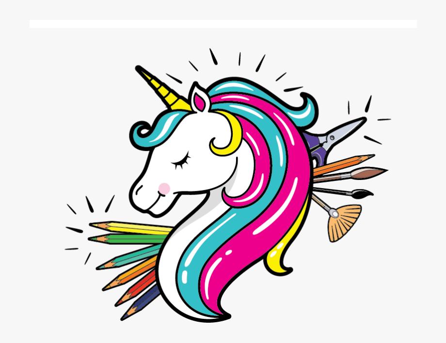 Unicorn Head, Cliparts & Cartoons.