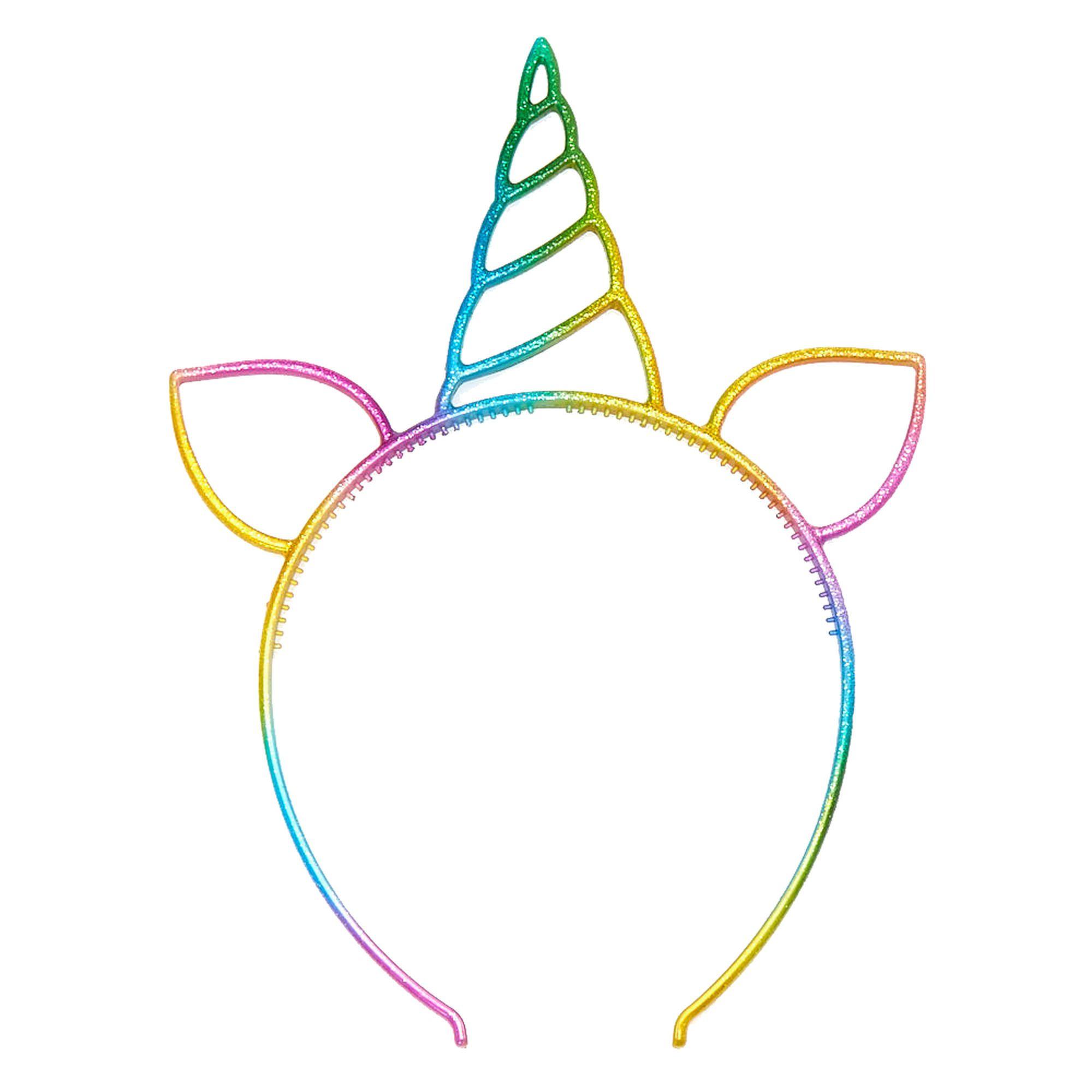 Claire\'s Rainbow Unicorn Headband in 2019.