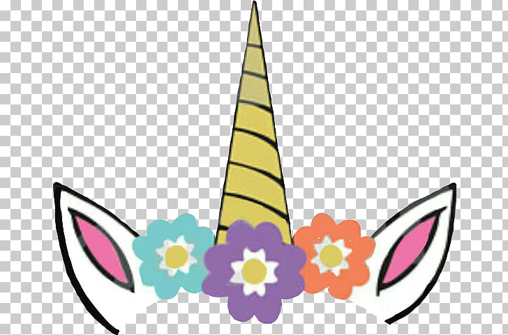Unicorn horn , Floral unicorn, unicorn horn illustration PNG.