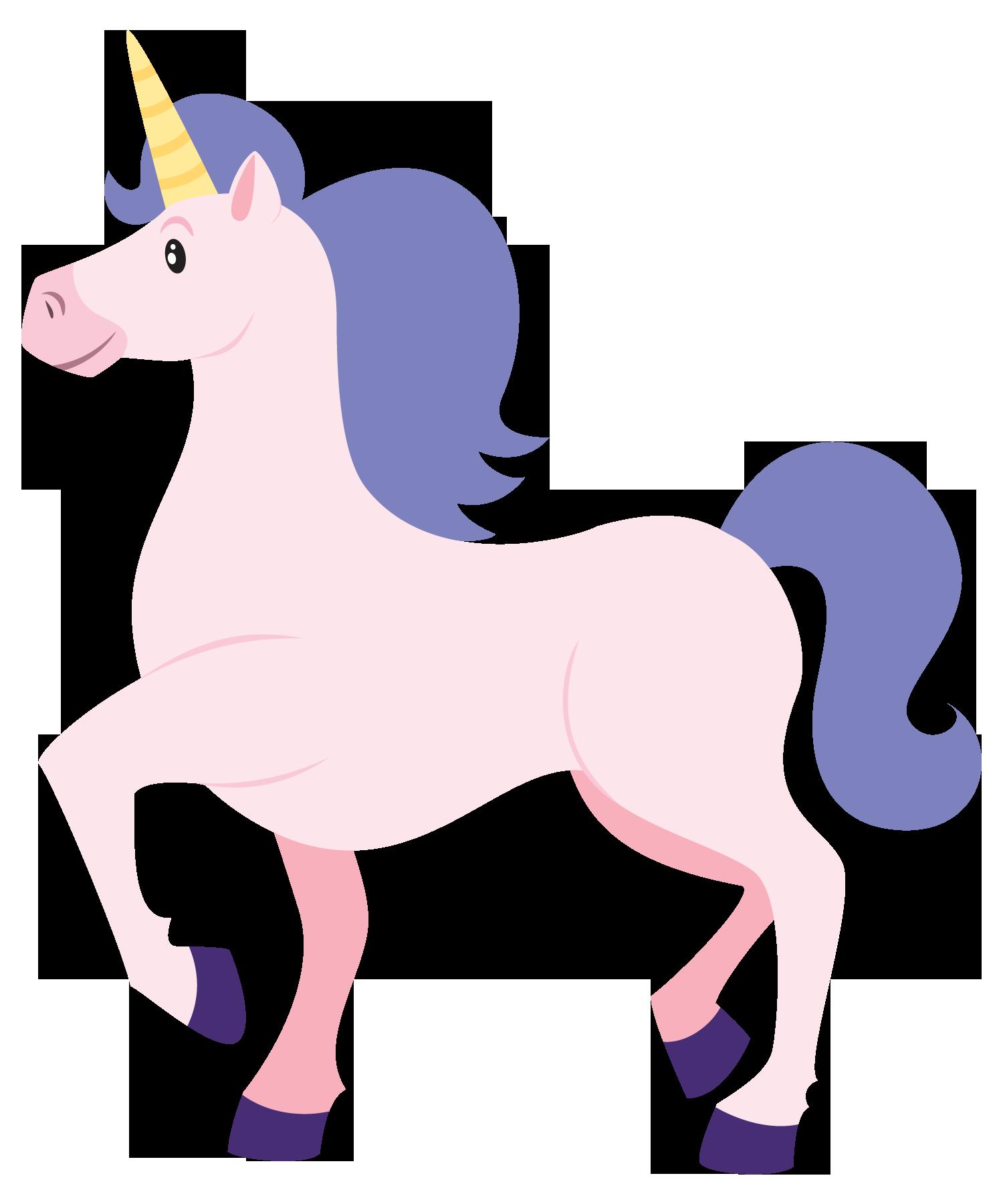 Clip Art Unicorn This cute cartoon unicorn clip.
