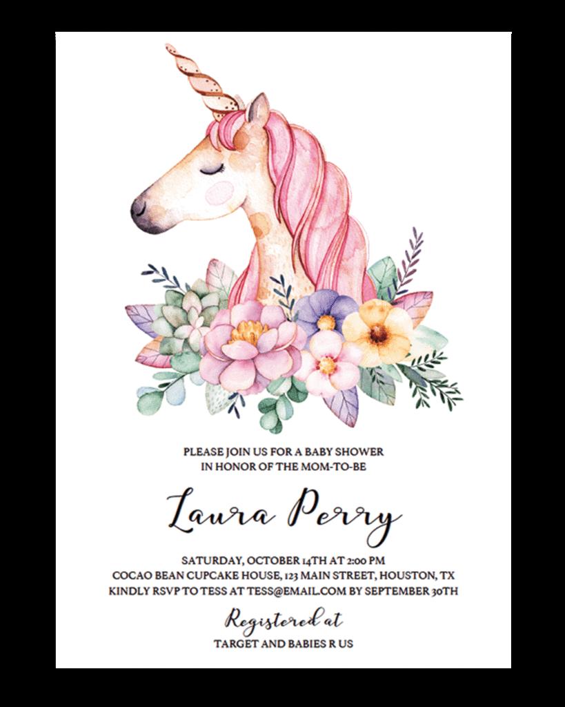 Invitation clipart unicorn, Picture #1419078 invitation.