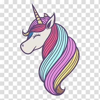 Multicolored unicorn illustration, Unicorn L.O.L. Surprise.