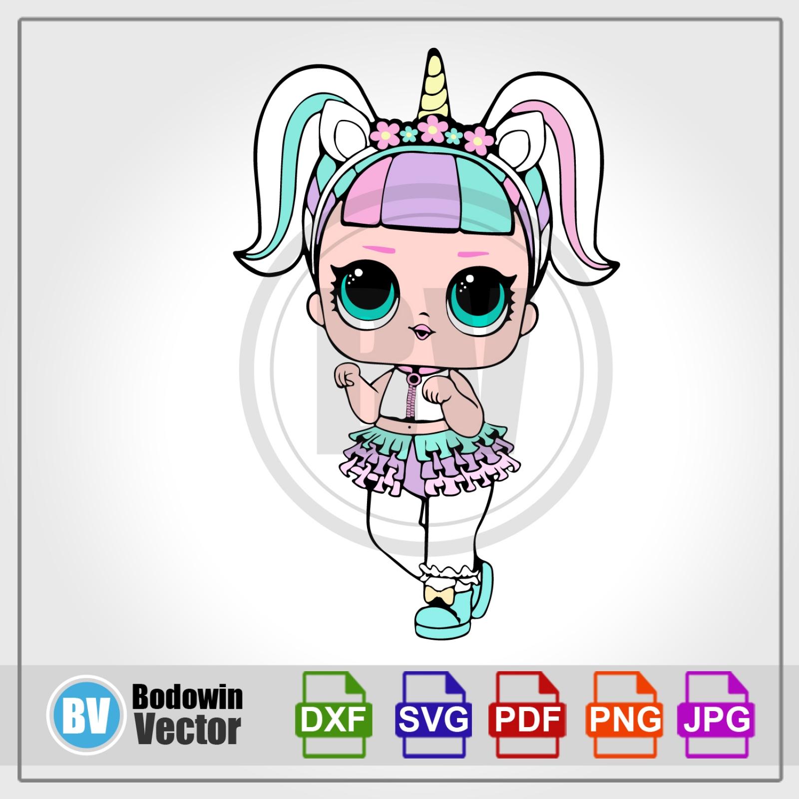 LOL Doll SVG.