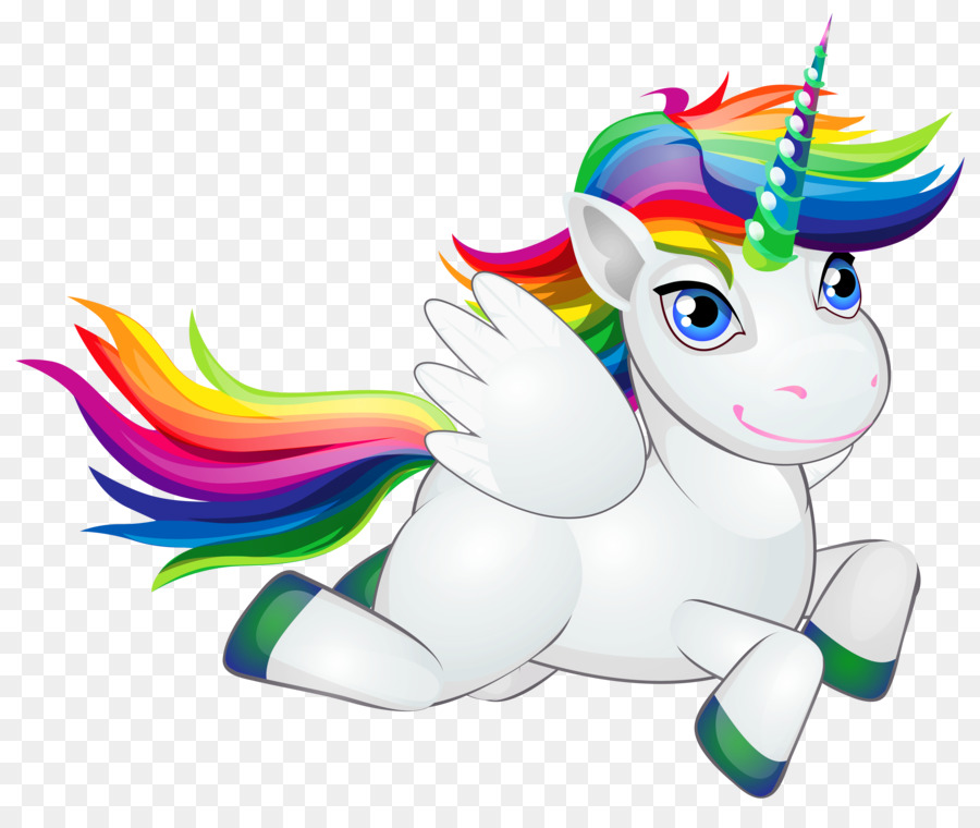 Unicorn Cartoon clipart.