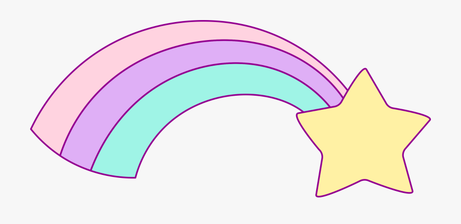 Svg Royalty Free Library Unicorn And Rainbow Clipart.