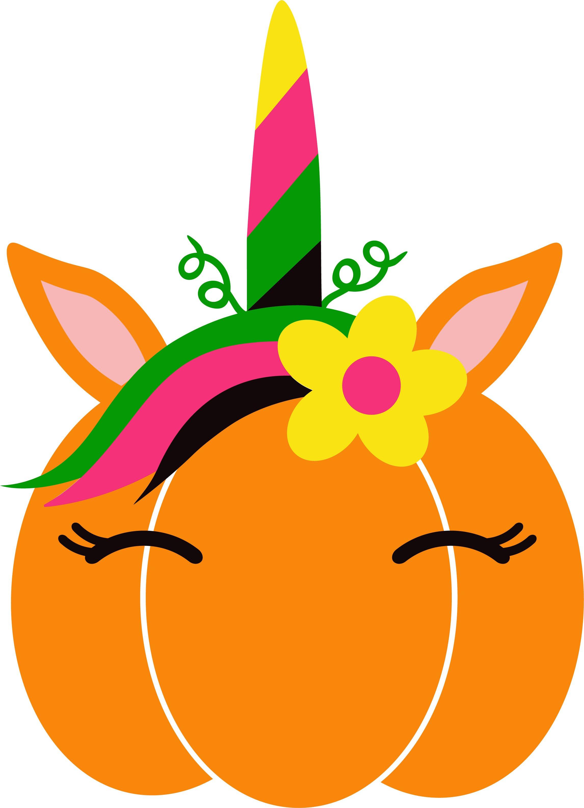 Unicorn Pumpkin.