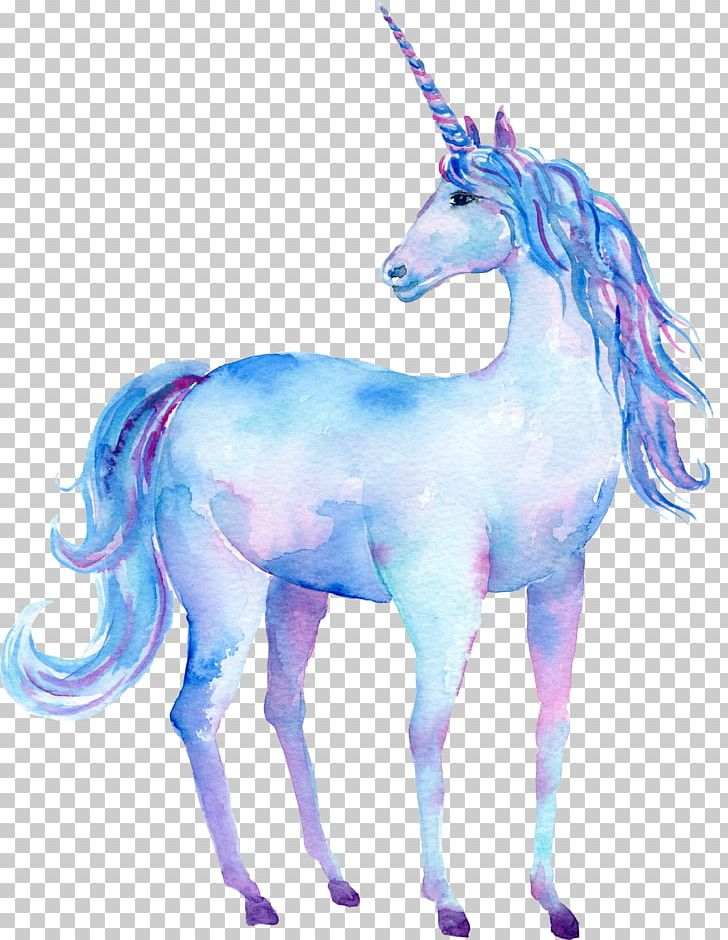 Unicorn Watercolor Painting Art Poster PNG, Clipart, Animal.