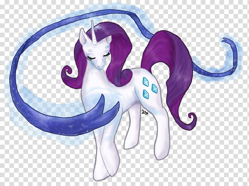 MLP, Rarity&#;s Magic, blue, white, and purple unicorn.