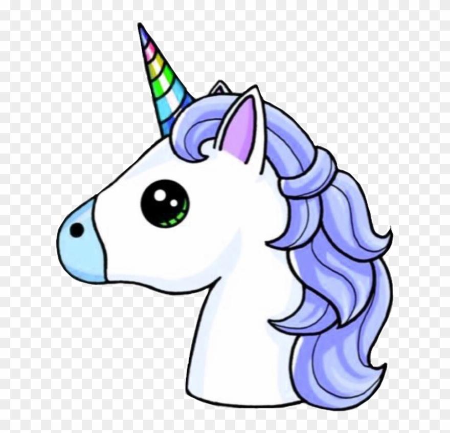 Unicorn Head Unicornhead Blue Rainbow Unicorns.