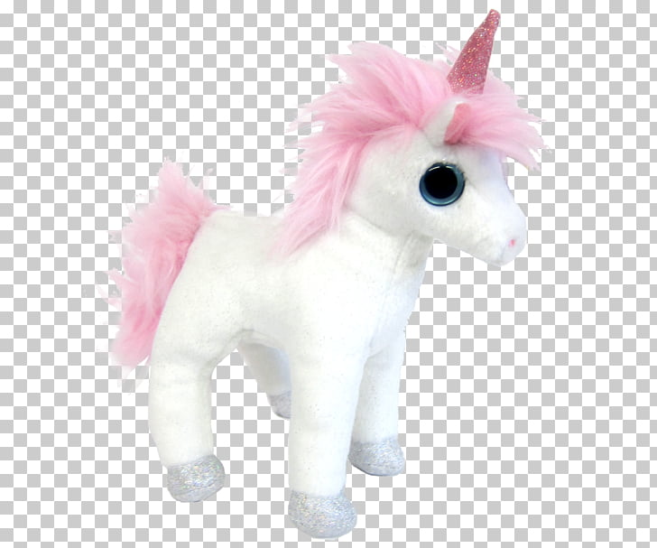Horse Stuffed Animals & Cuddly Toys Plush Textile, unicorn.