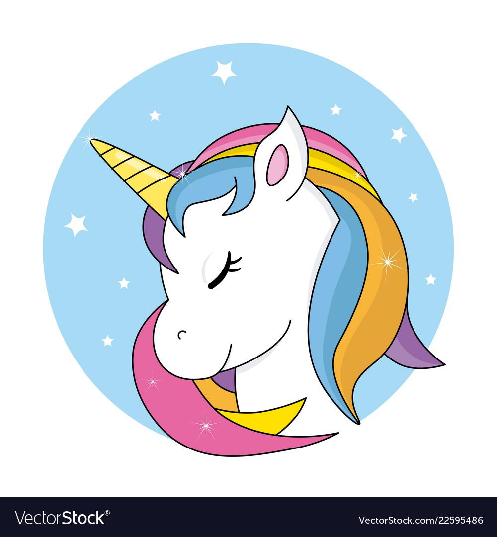 Cute unicorn.