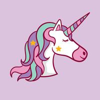 Unicorn Free Vector Art.