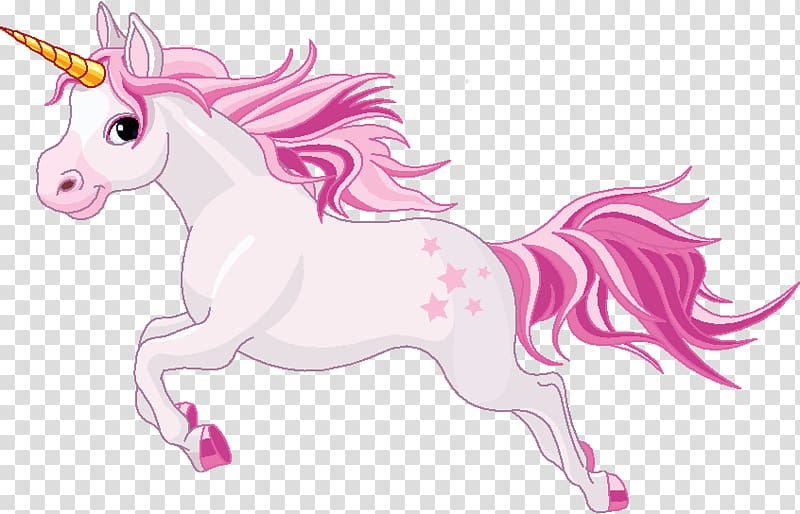 White and pink unicorn illustration, Unicorn , Unicorn.