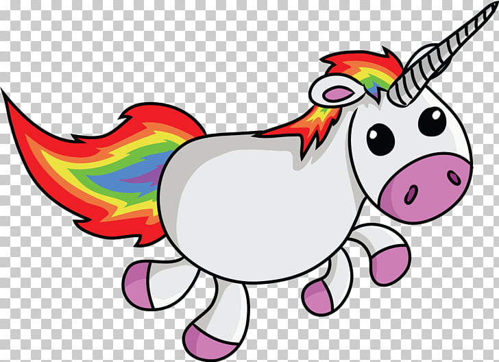 Unicorn , Christmas Wings s PNG clipart.