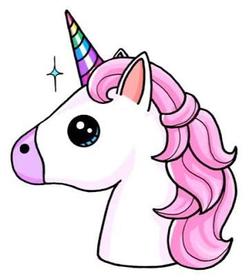 unicornio png emoji.