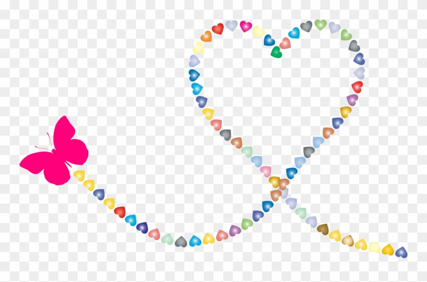 Trail of hearts clipart clipart images gallery for free.