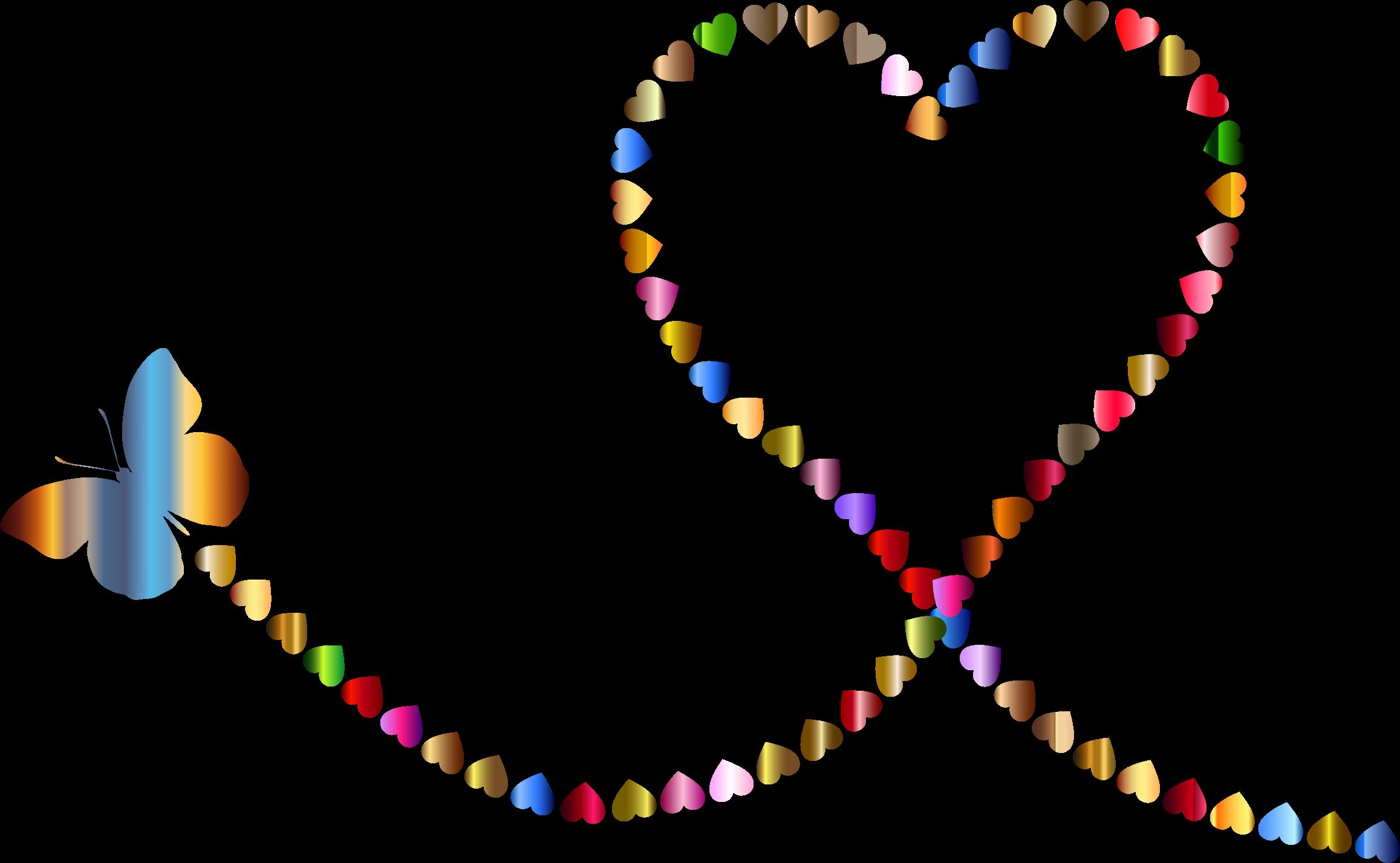 9259 Hearts free clipart.