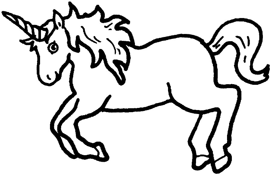 Free Black And White Unicorn Images, Download Free Clip Art.