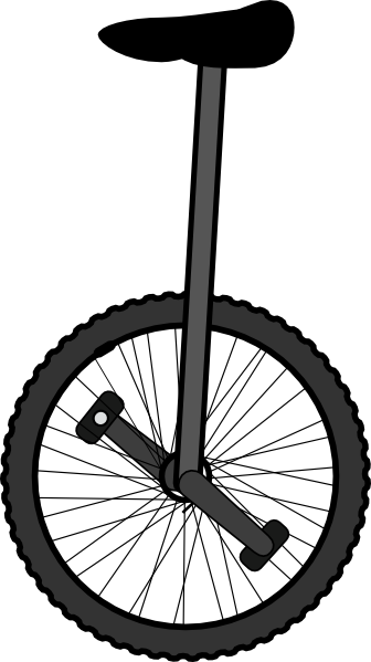 Unicycle Clip Art at Clker.com.