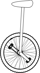 Unicycle Clip Art Download 4 clip arts (Page 1).