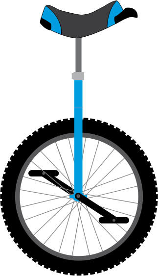 Free Unicycle Clip Art.