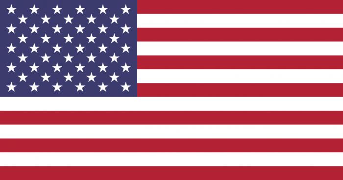 Bandera Estados Unidos De Norteamerica Png Vector, Clipart.
