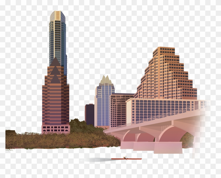 Austin Texas Png Clipart Black And White Stock.