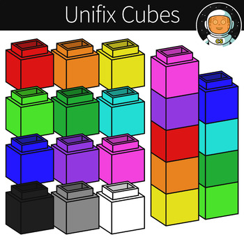 Unifix Cube Clipart Worksheets & Teaching Resources.