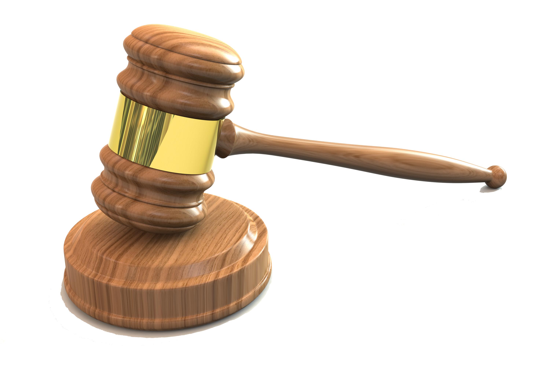 United States Gavel Judge Court.