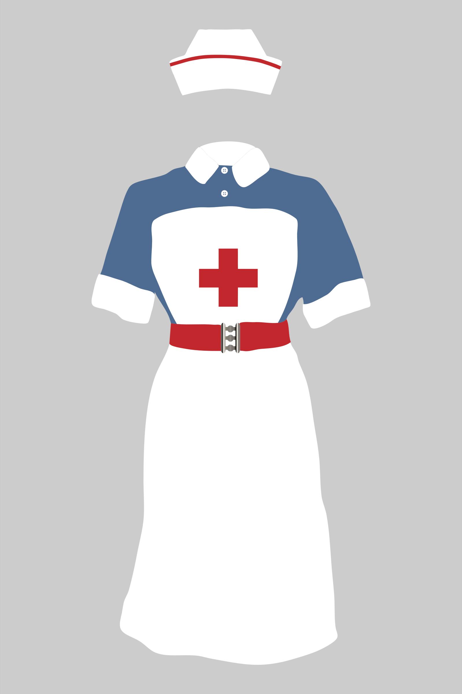 Nurse Outfit Clipart.
