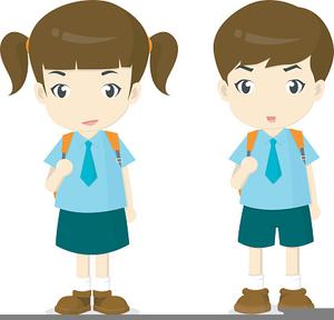 Cliparts School Uniform.