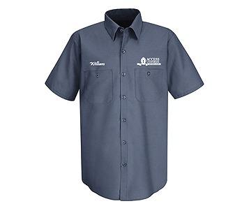 Logo Uniform Shirt.