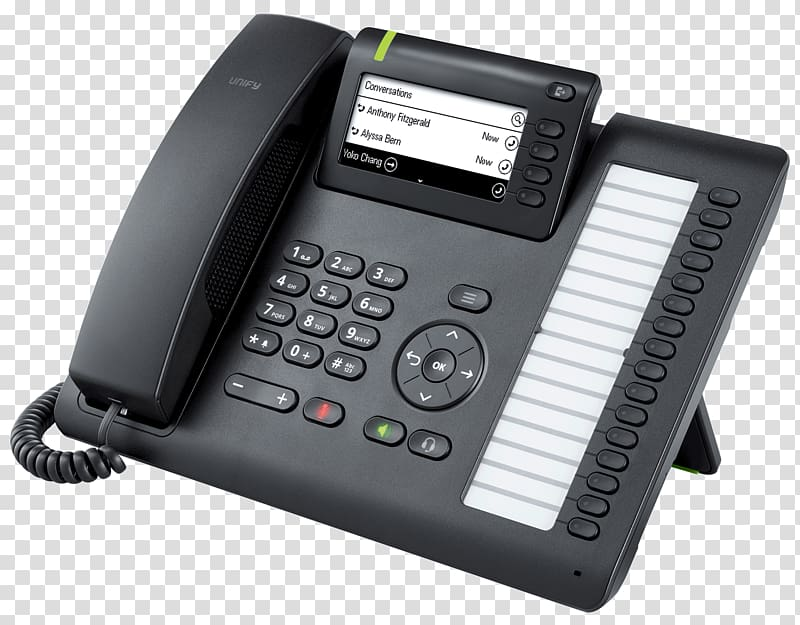 Telephone OpenScape Desk Phone CP400 Black Unify Software.