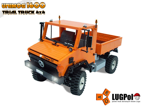 Auto Hair Inspired: unimog trial truck.