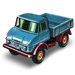 Toy Unimog Icon, PNG ClipArt Image.