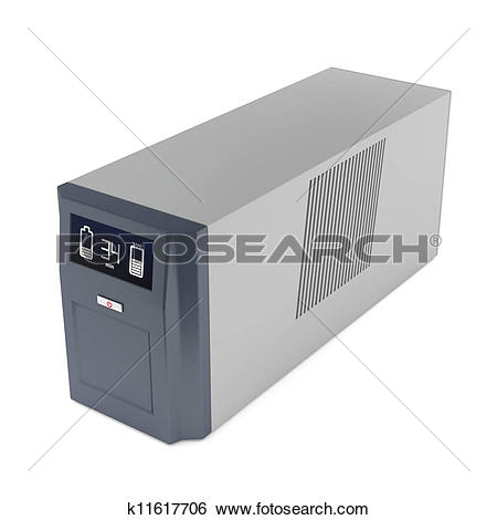 Uninterruptible power supply Stock Illustrations. 17.