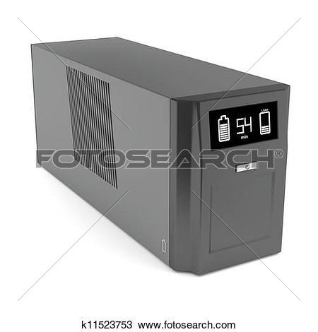 Stock Photo of Uninterruptible power supply k11523753.