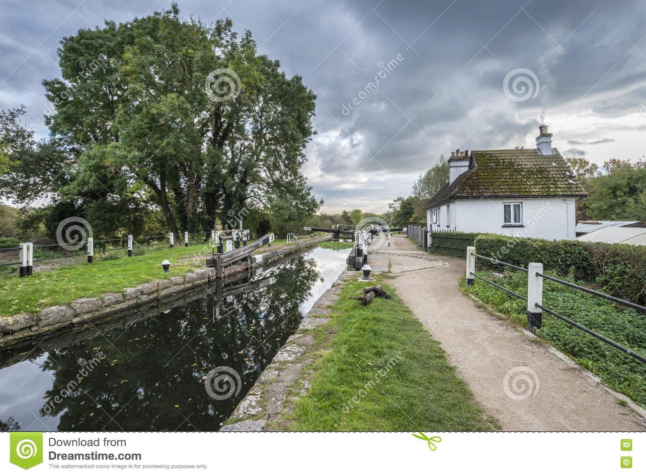 Denham Lock Grand Union Canal At Denham In Colne Valley Regional.